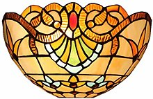 GUOXY Wall Sconce, Stained Glass Wall Lighting,