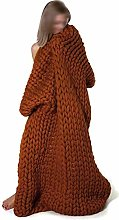 GUOYUN Knitting Giant Chunky Knit Blankets