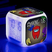 GUOYXUAN 3D game alarm clock wake-up light digital