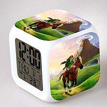 GUOYXUAN 3D game number 7 color change LED digital