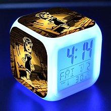 GUOYXUAN Alarm clock Led light 7 color change