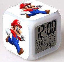 GUOYXUAN Alarm clock LED light color change