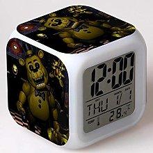 GUOYXUAN Cartoon 3D alarm clock color change toy