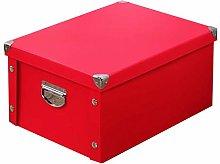 GUOZI Collapsible File Storage Box,Decorative