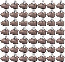 Gurxi 50 Pieces Shelf Pins Support Furniture Shelf