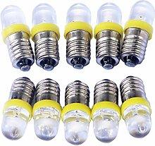 GutReise 10x E10 3V 4.5V 12V 24V Spotlight LED