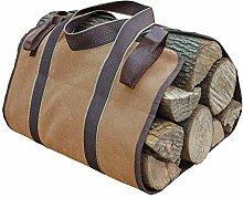 GUYAQ Firewood Storage Bag Large Capacity Indoor