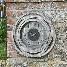 Guyer 50 cm Silent Wall Clock Sol 72 Outdoor