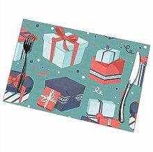 GuyIvan Gift Placemats Plate Mats Table Mats