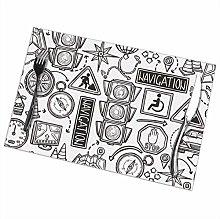 GuyIvan Navigation Placemats Plate Mats Table Mats