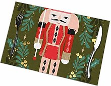 GuyIvan Nutcracker Placemats Plate Mats Table Mats