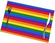 GuyIvan Pattern Placemats Plate Mats Table Mats