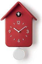 Guzzini - Cuckoo Battery Operated Clock Red
