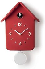 Guzzini - Cuckoo Battery Operated Clock Red