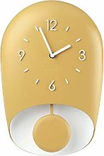 Guzzini Wall Clock, Mustard Yellow, One size