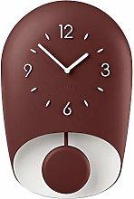 Guzzini Wall Clock, Ruby/Brick red, One size