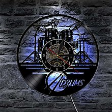 GVC 1Piece Drums Design Silhouette LED Backlight