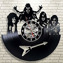 GVC Band Wall Clock Vinyl Record Wall Clock Vinyl