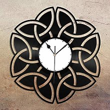 GVC Celtic Knot Vinyl Wall Clock Unique Gift for