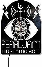 GVC Pearl Jam Vinyl Wall Clock Exclusive Music