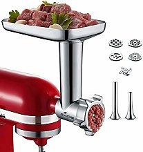 Gvode Metal Food Grinder Attachment for KitchenAid