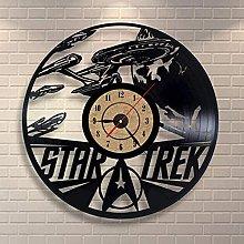 GVSPMOND Vinyl record wall clock classic clock
