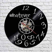 GVSPMOND Vinyl record wall clock with color