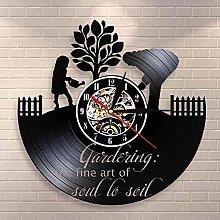 GVSPMOND Vinyl Wall Clock The Beauty of Soul