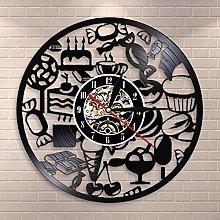 GVSPMOND Wall clock candy chocolate ice cream