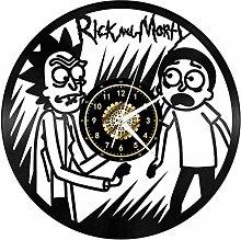 GVSPMOND Wall clock cartoon character wall clock