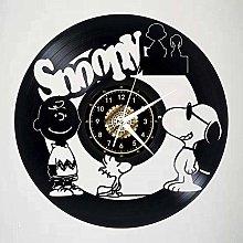 GVSPMOND Wall clock cartoon dog with sunglasses