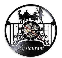 GVSPMOND Wall clock specialty restaurant wall