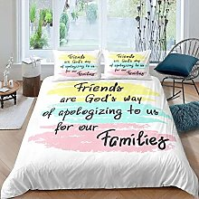 Gvvaceo® 3 Piece Baby Bedding Set Duvet Set