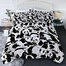 Gvvaceo® 3 Piece Baby Bedding Set Duvet Set King