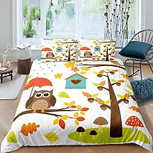 Gvvaceo® 3 Piece Baby Bedding Set Duvet Set Super