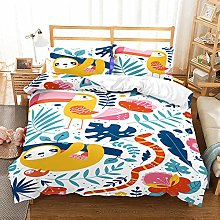 Gvvaceo® Duvet Cover kings Size Cartoon animal