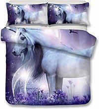 Gvvaceo® Duvet Cover Super King Animal white
