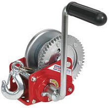 GWC1200B 540kg Capacity Geared Hand Winch with