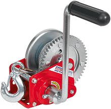 GWC1200B Geared Hand Winch with Brake & Cable