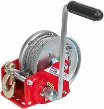 GWC2000B Geared Hand Winch with Brake & Cable