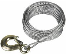 GWEC20 Winch Cable 2000lb 10m - Sealey