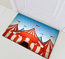 gwegvhvg Circus tent carpet, kitchen absorbent and