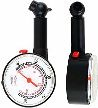 Gwgbxx Tire Pressure Gauge 0-50PSI 0-3.5 BAR Car