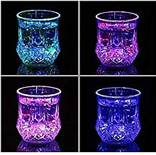 Gwill Bar Glasses Funny,Water Activated Colorful