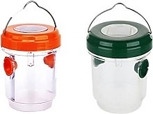 GWN Wasp Traps Outdoor Hanging Reusable Hornet