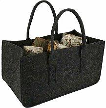 GWQSM Fireplace Wood Felt Storage Bag Shopping