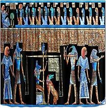gwregdfbcv Egyptian mythology shower curtain