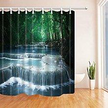gwregdfbcv Forest flowing water bathroom shower