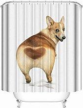 gwregdfbcv Polyester bathroom shower curtain