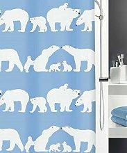 gwregdfbcv Shower curtain, iceland blue